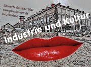 """Jeanette Geissler – mail-art project """"Industry and culture"""" 2021 Belgium – photomontage digitally edited,"""