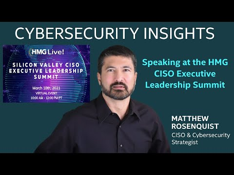 HMG CISO Exec  Leadership Summit
