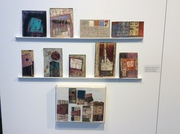 A wall of Nancy Bell Scott's beautiful works from my collection