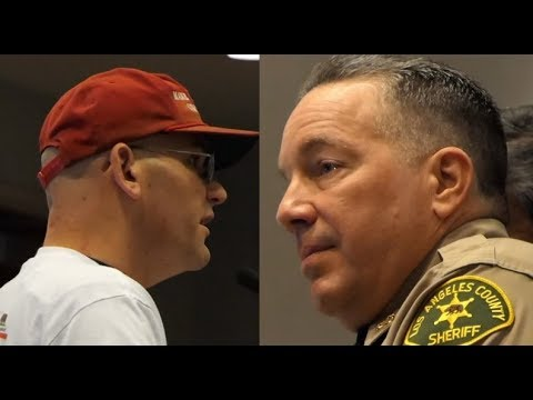 AMAZING: LA SHERIFF ALEX VILLANUEVA GETS HEAT FROM AMERICANS SICK OF HIS ILLEGAL ALIEN 1ST POLICY