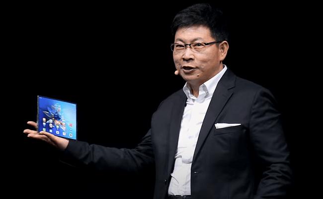 Huawei launches $3K foldable, readies HarmonyOS