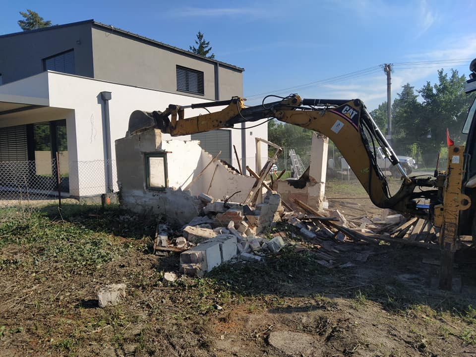 pisto-stav s.r.o. búracie práce / demolačné práce