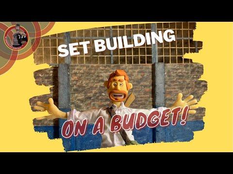 Stop Motion Set   Building a low budget set   Tutorial