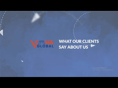 We take pride and care in every website we create | Client testimonial for Vcana Global