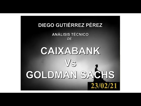 Análisis Bursátil de CaixaBank y Goldman Sachs.