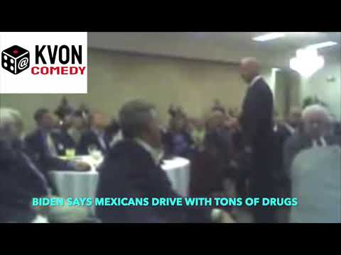 Biden gets racist on Mexico... media covers it up (comedian K-von explains)