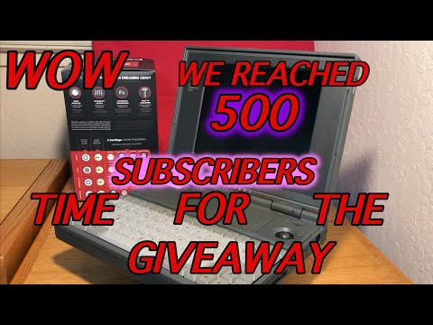 SUBSCRIBER GIVEAWAY WE HIT 500 TIME FOR THE LIVE DRAWING