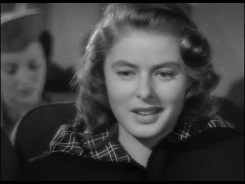 Notorious (1946,) A. Hitchcock, I.Bergman, C.Grant [Spy Film Noir]