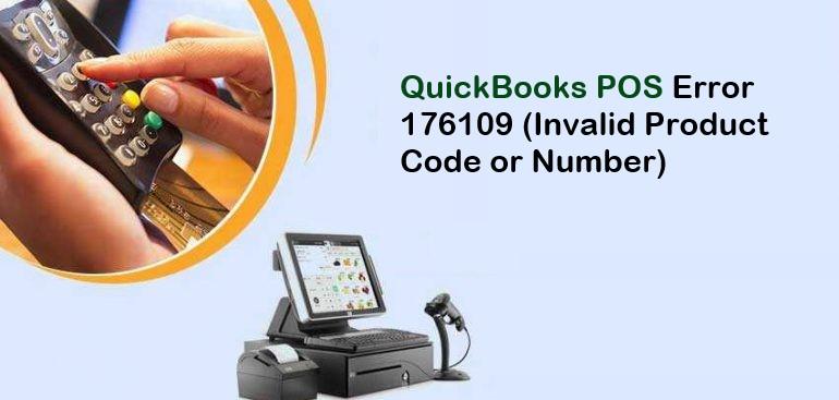 QuickBooks Error 176109 | QB POS Invalid Product Number
