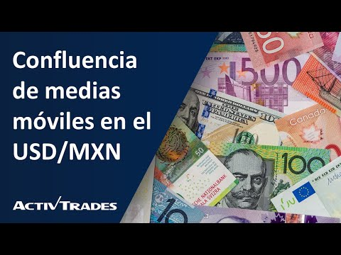 Confluencia de medias móviles en el USD/MXN