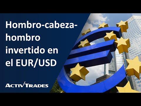 Hombro-cabeza-hombro invertido en el EUR/USD