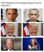 US-Presidents-begining-ending-terms