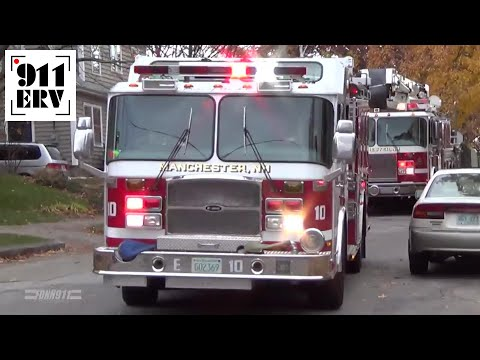Manchester, NH Fire Department Box Alarm Response