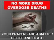 "31st Annual ""Just Pray NO!"" to drugs Worldwide Weekend of Prayer and Fasting"