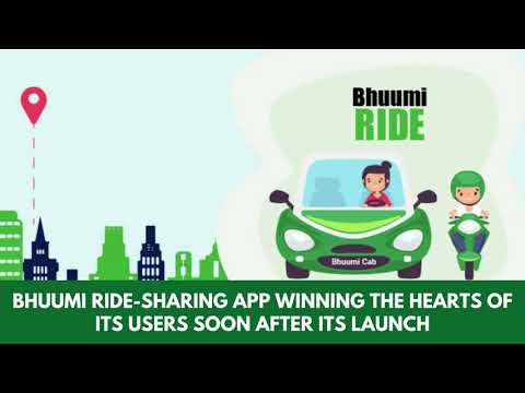 Bhuumi Ride Sharing App Winning The Hearts Of Its Users Soon After Its Launch