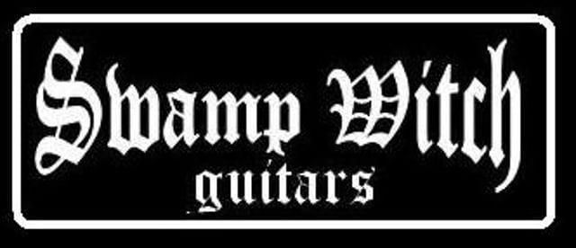 Swamp witch guitar railpunk