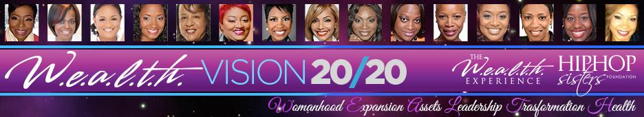 W.E.A.L.T.H. VISION 20/20 Logo