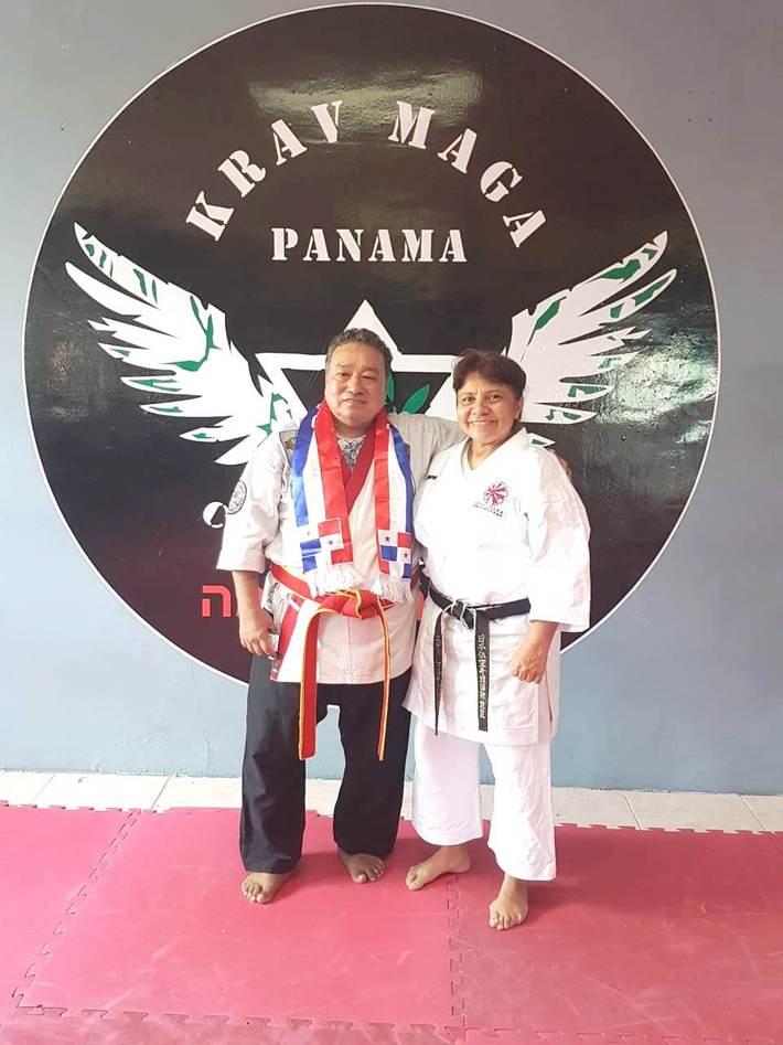 Dai Soke Jagdish with E.Martinzes Soto