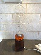 French boiler lamp