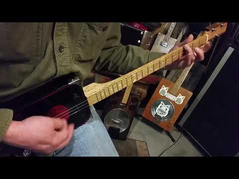 Pantera on Three String Guitar