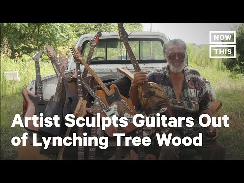 Guitars Hand-Crafted Out of Lynching Tree Wood, Freeman Vines