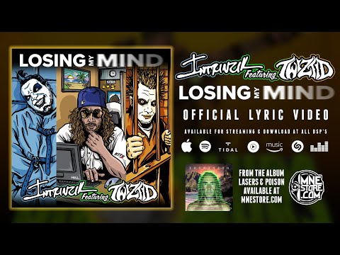 Intrinzik ft. Twiztid - Losing My Mind (Official Lyric Video)