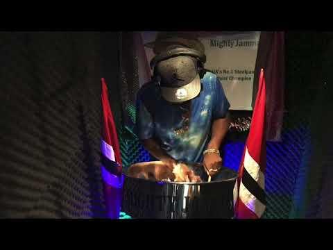 TUM HI HO | ASIAN CARIBBEAN MUSIC | MIGHTY JAMMA ON STEELPANS