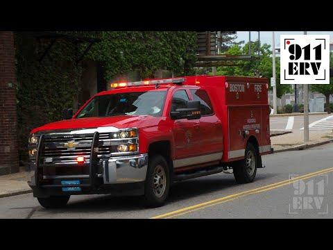 Boston Fire Tango 15 Responding