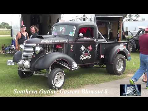 Gassers Blowout 8 - Saturday Video Slides & Swap Meet