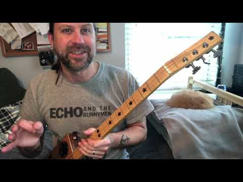 A Fun Riff for 3-string (fretted) CBGs That Looks Hard... But It's Easy!