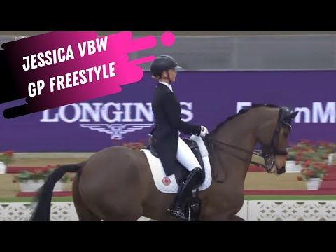 Jessica von Bredow-Werndl & Zaire 14 Win The Grand Prix Dressage Freestyle 84.8%