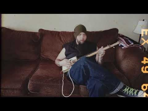 Brown Couch Blues Improv on Cigar Box Guitar