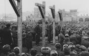 Commie Jew Public executions of Soviet citizens who helped the Germans