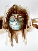 Autoportrait masqué