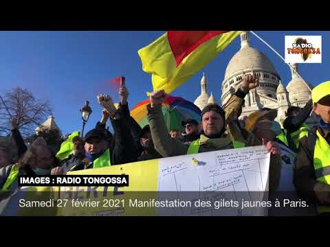 Yellow Vests Return to Paris - Feb. 27th, 2021