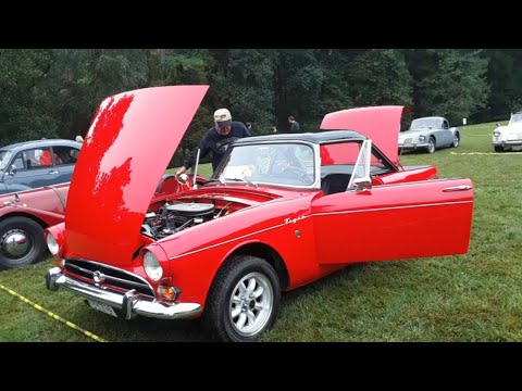 1965   1966 Sunbeam Tiger At the 2020 MGs On the Rocks