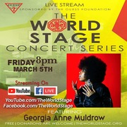 "GEORGIA ANNA MULDROW ""Womens' History Month - Kick-Off"" (Live Stream - Recordin') / Concert Series"" *updatez*"
