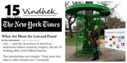 Vindhek in The New York Times