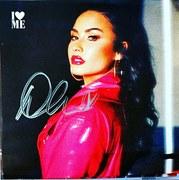 Demi Lovato signed exclusive  I Love Me CD