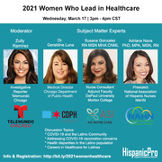 2021 Women Who Lead in Healthcare