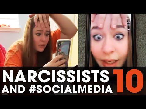 Narcissists and #SOCIALMEDIA X