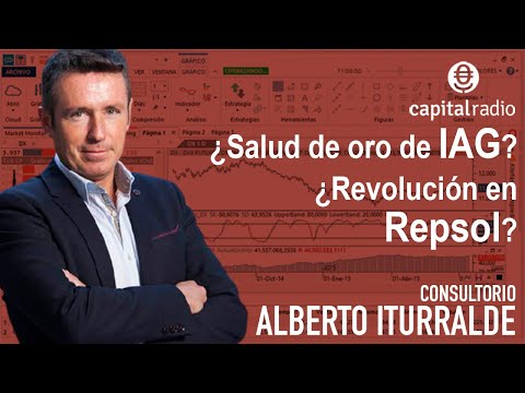 Video Análisis con Alberto Iturralde: IBEX35, Audax, IAG, Sacyr, Grifols, Repsol, Acerinox...