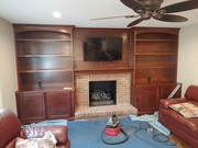 Home Remodel, Fireplace and Dining