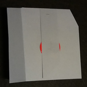 minimal mail art