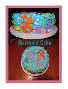 Under The Sea Mermaid Cake