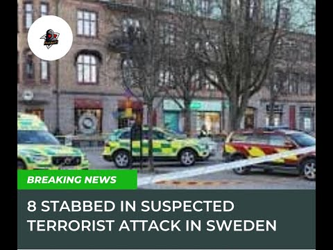 Terrorist Attacked in Sweden, 8 people were stabbed#terrorist#terroristattacked#Sweden#breakingnews