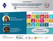 SUPPORTING COUNTRIES TO ACCELERATE PROGRESS TOWARDS THE SDGS: AN UNDENIABLE PRIORITY