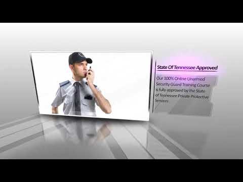Getting Your Potential With Unarmed Security Personnel Training In Tennessee