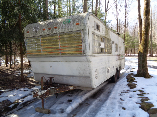 Free trailer from Craigslist