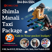 Discover the Affordable Chandigarh to Shimla Tour Packages With Chiku Cab